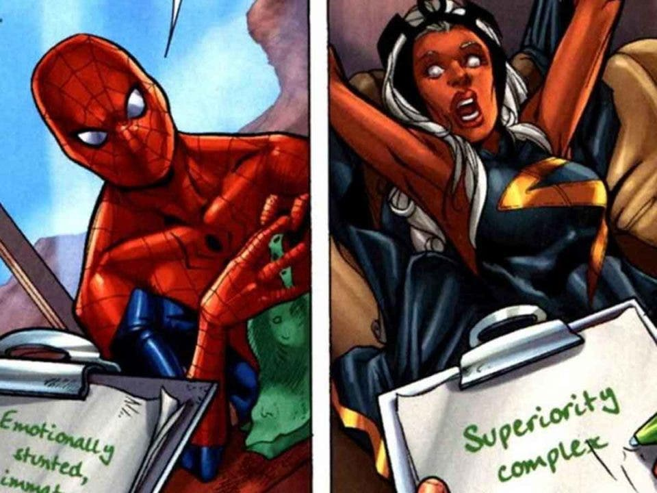 Qué ocurre cuando los Vengadores van a terapia contra la ira