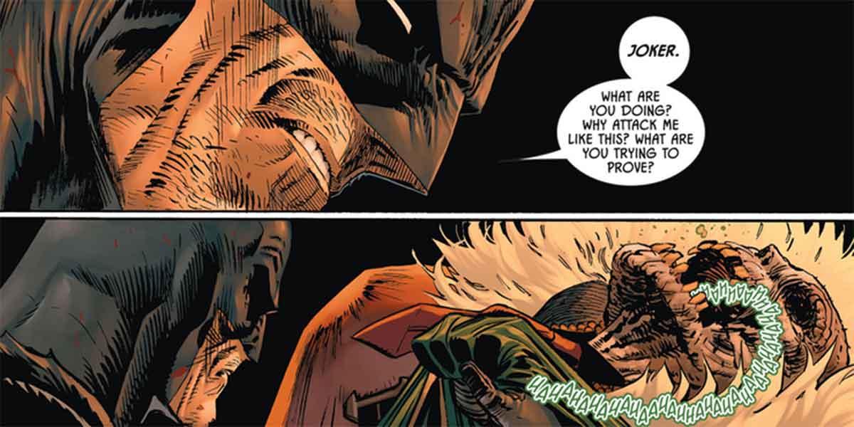Batman revela la impactante verdadera identidad de El Diseñador