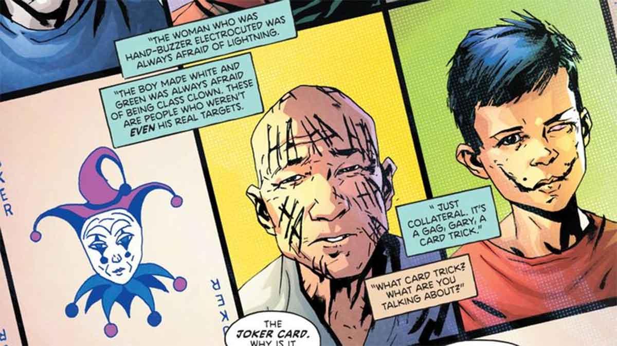DC Comics revela el daño psicológico que provoca el Joker