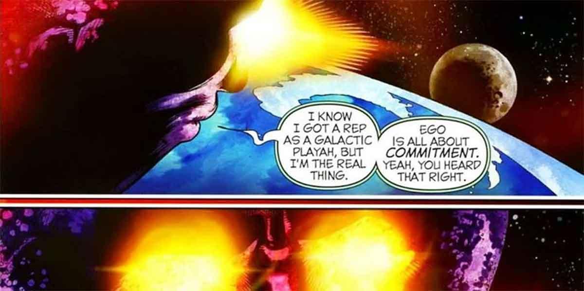 Un villano de Marvel intenta ligar con el planeta Tierra entero