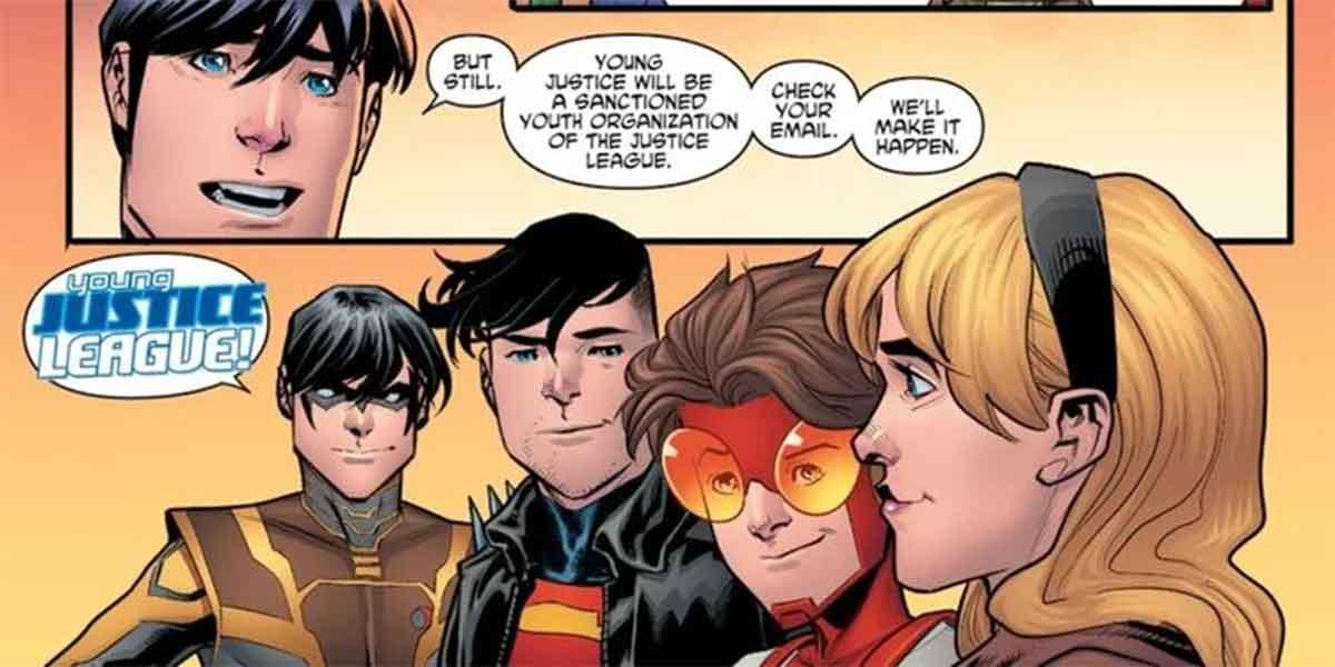 DC Comics le da a Young Justice un nombre mejor
