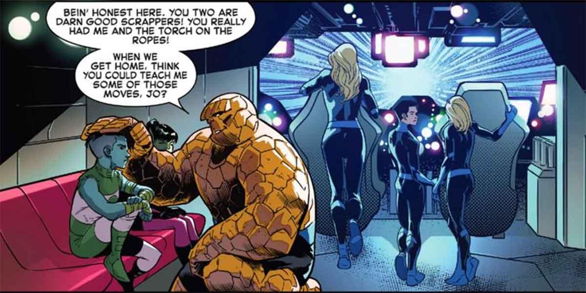 Los Cuatro Fantásticos añaden dos miembros no humanos al equipo