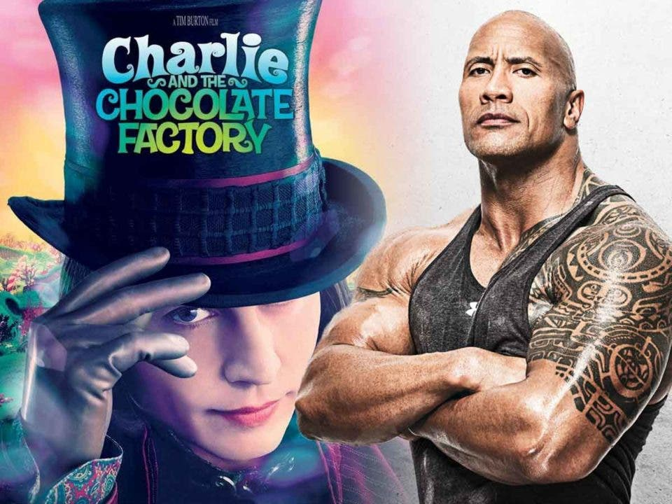 Dwayne Johnson revela que casi interpreta a Willy Wonka