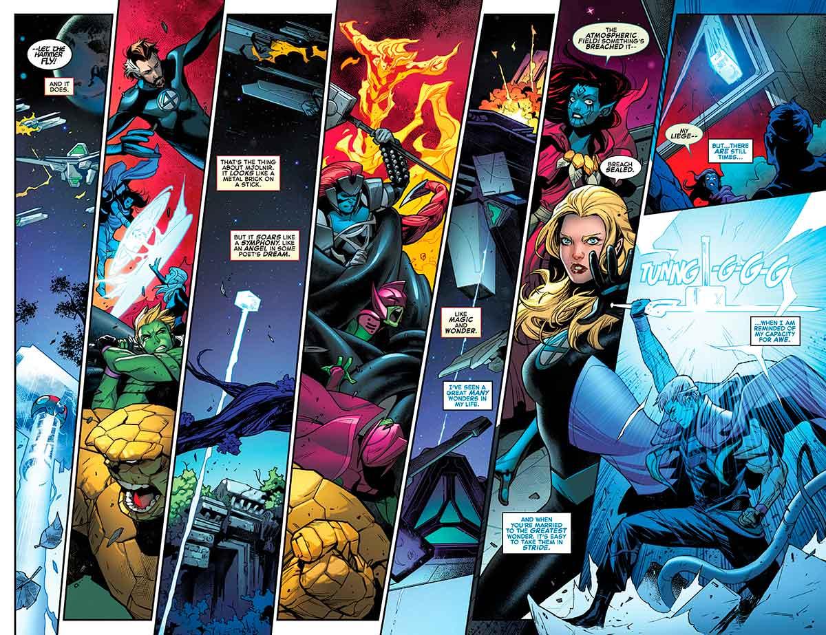 El martillo de Thor no puede detener al nuevo rey del universo de Marvel