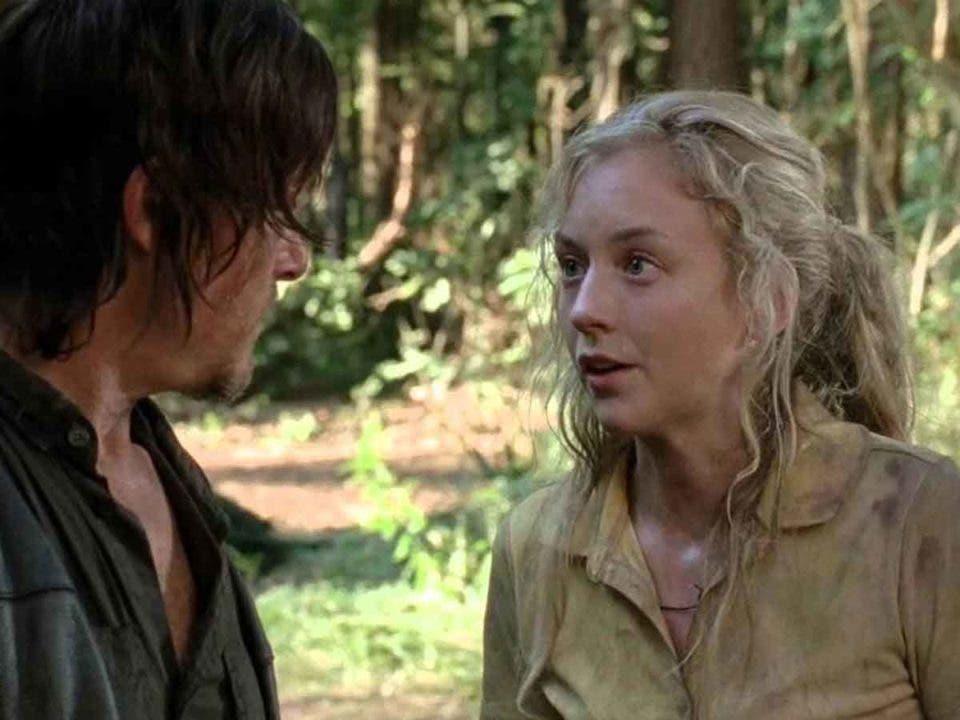 Emily Kinney quiere regresar a The Walking Dead