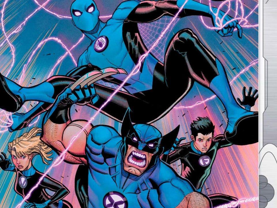 Dos héroes acuden al rescate de Los cuatro fantásticos una vez más