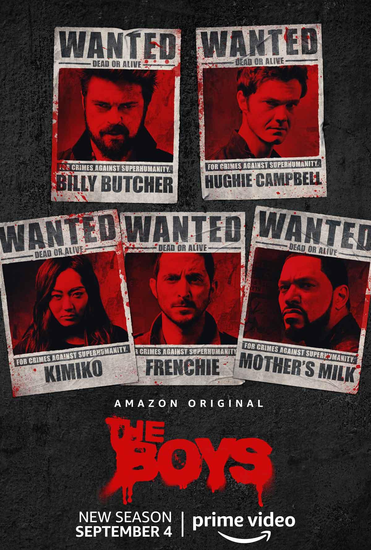 The boys poster temporada 2