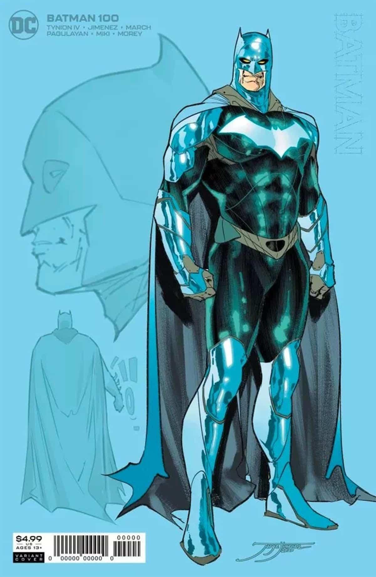 El nuevo traje y la sonrisa de Batman