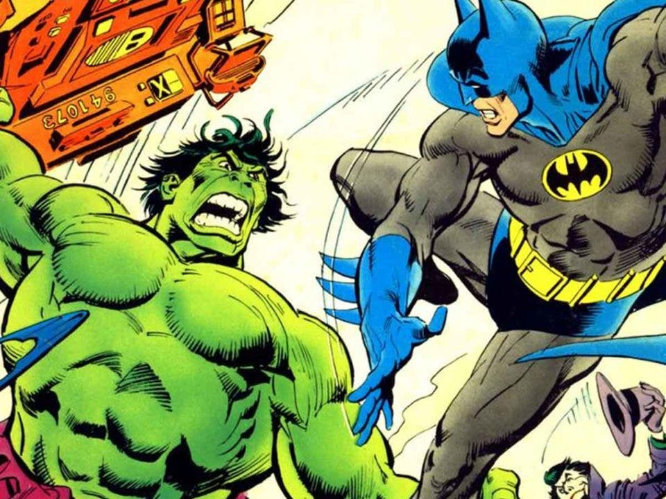 Batman vence a Hulk de la manera más loca posible