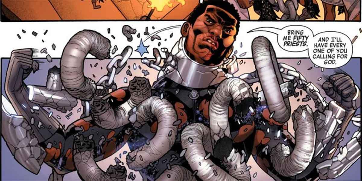 Black Panther rompe las cadenas de la opresión