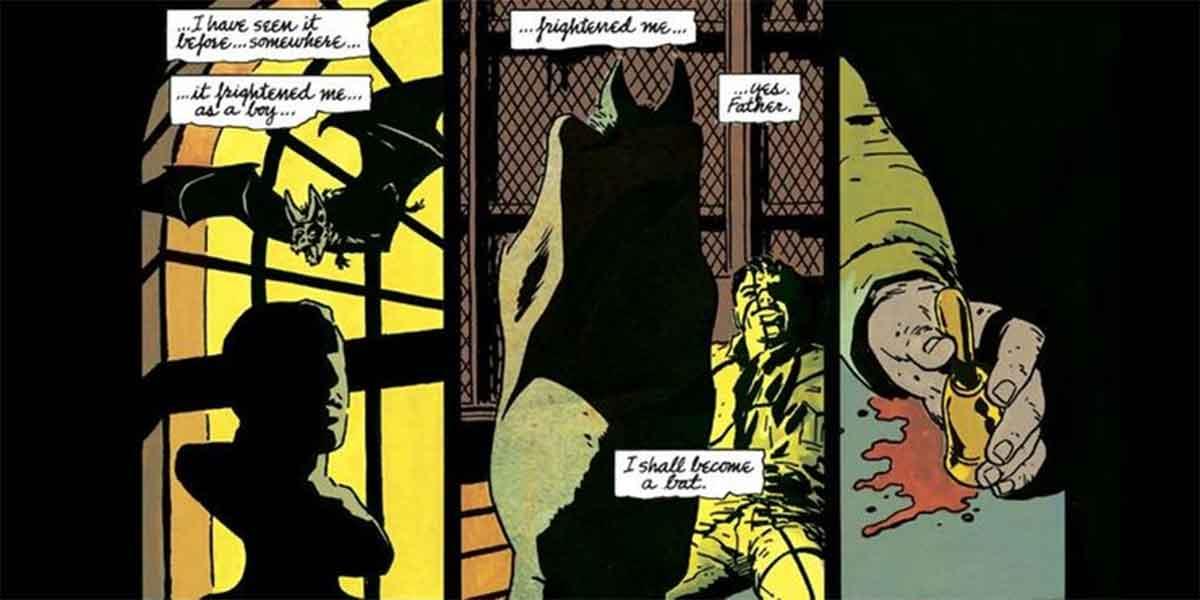 Bruce Wayne promete ser un mejor Batman