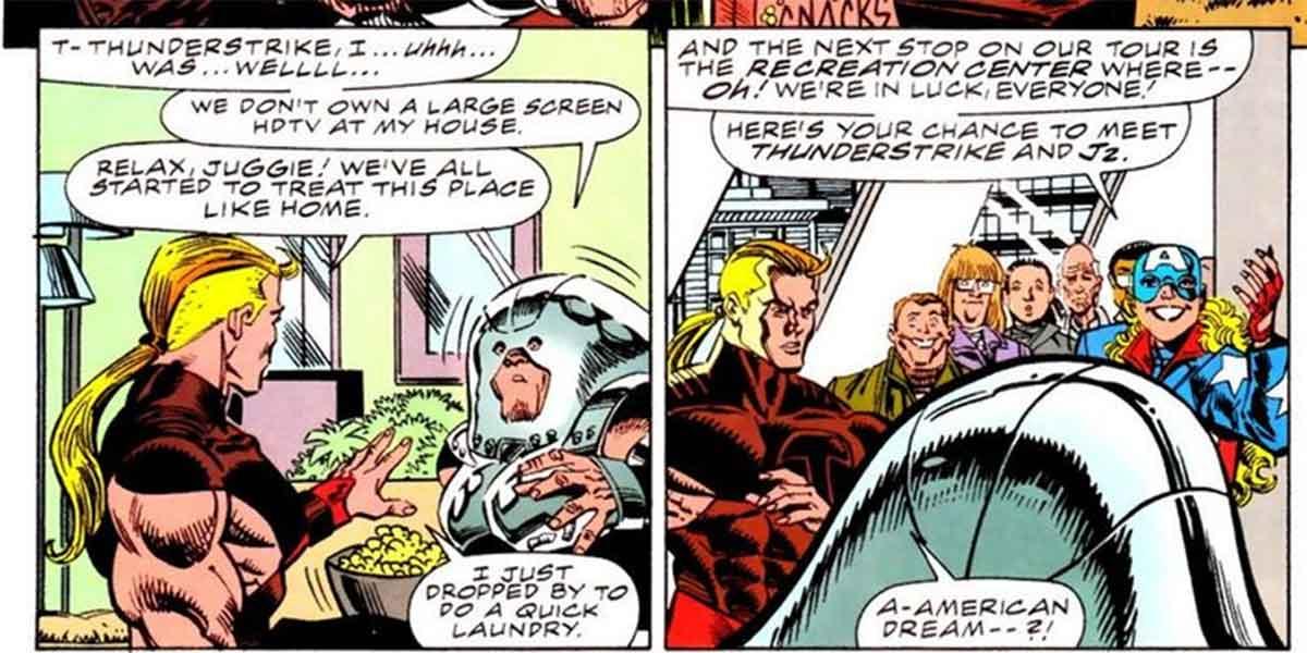 Capitán América del futuro tiene un trabajo inesperado