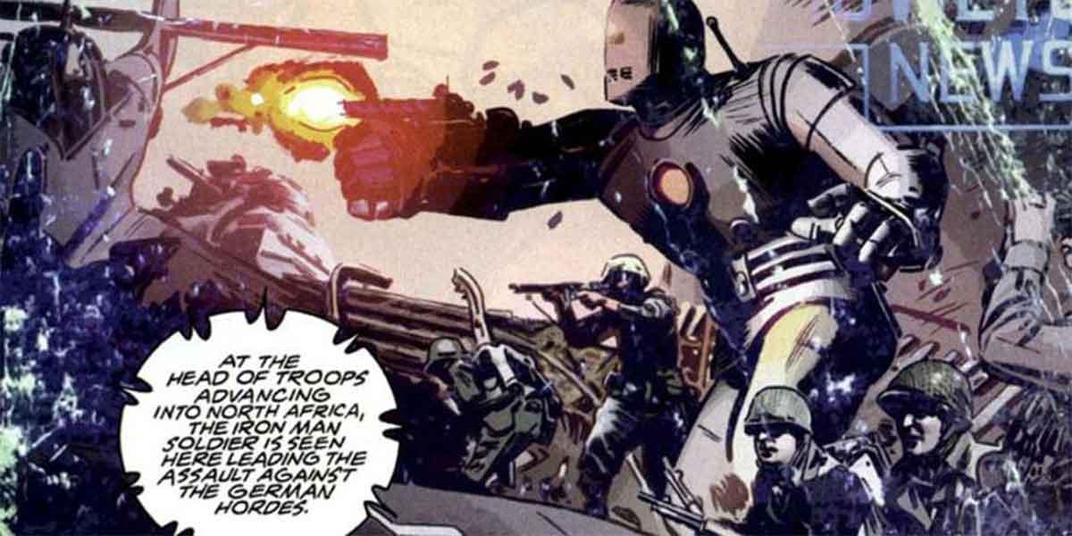 Así se convirtió Capitán América en Iron Man