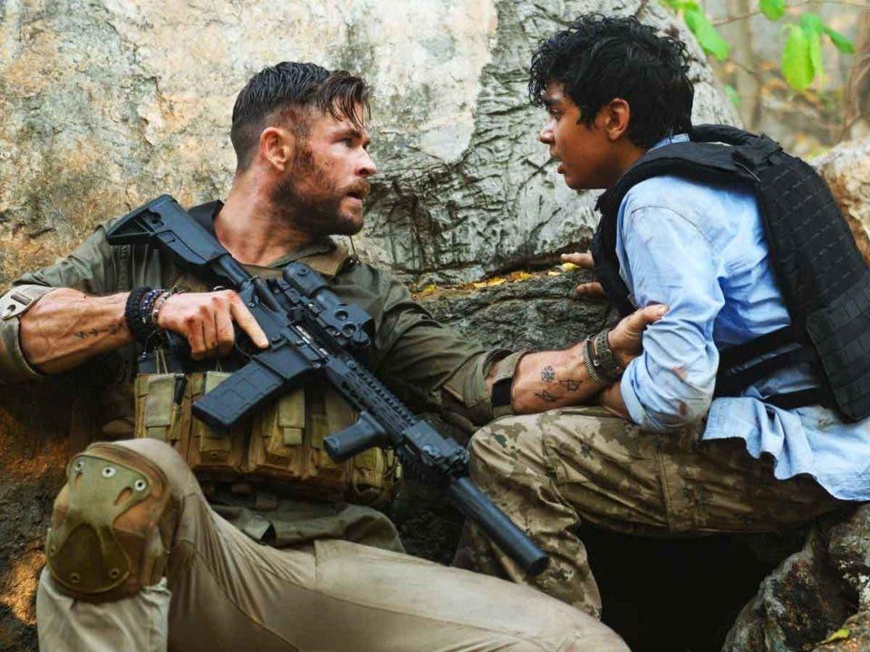 Chris Hemsworth celebra que Tyler Rake (Extraction) es la película más popular de Netlfix