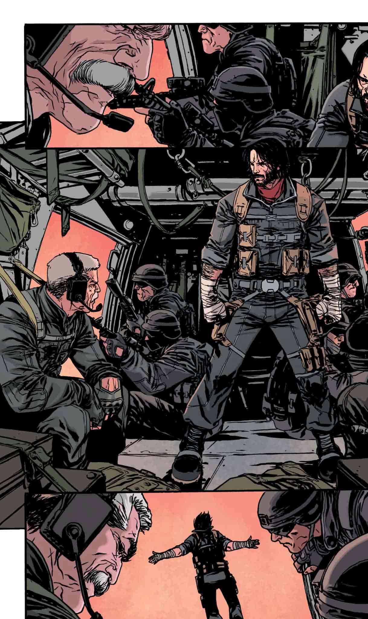 Keanu Reeves protagonizará la adaptación de su propio cómic en Netflix
