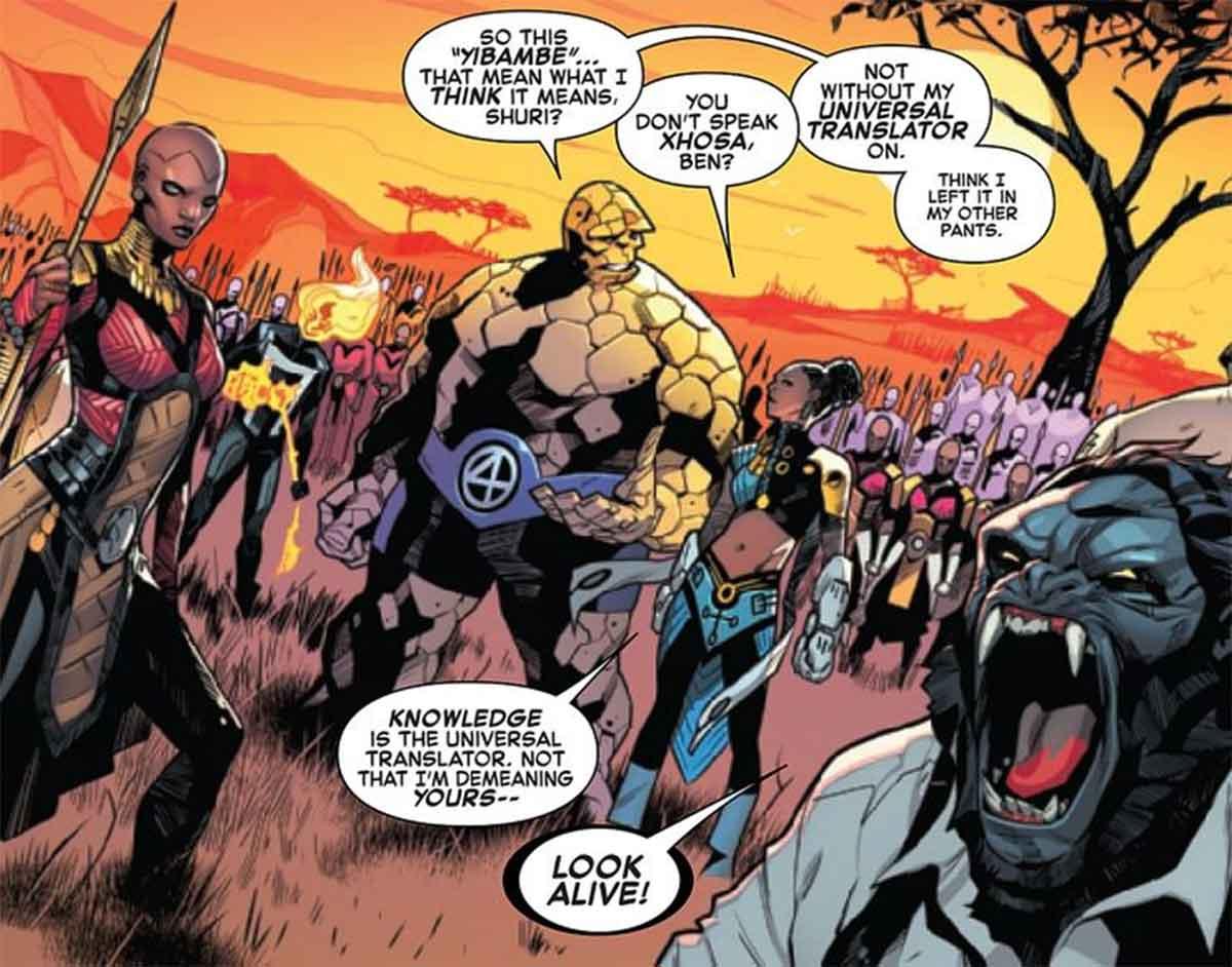 Un cómic de Marvel copia una escena de Vengadores: Infinity War (2018)