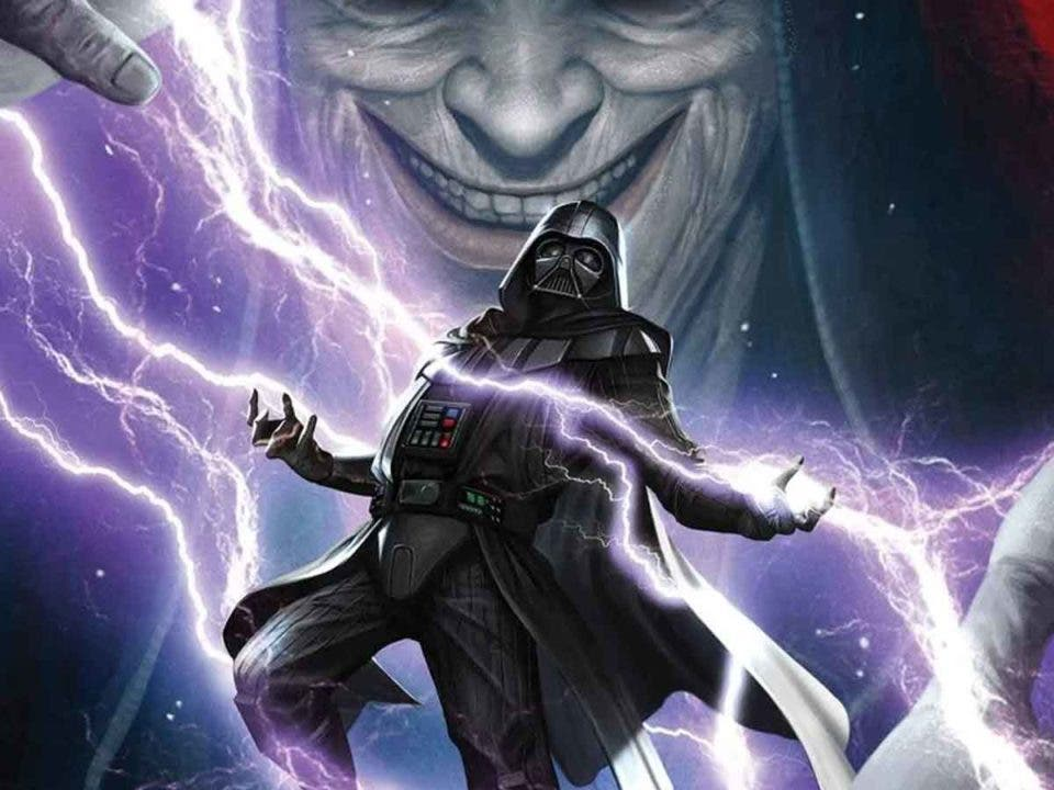 Darth Vader recibe una lección muy dolorosa por parte del Emperador