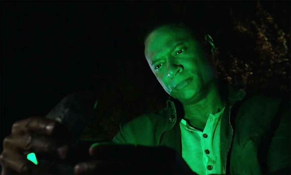 Linterna Verde en el Arrowverso David Ramsey (John Diggle)