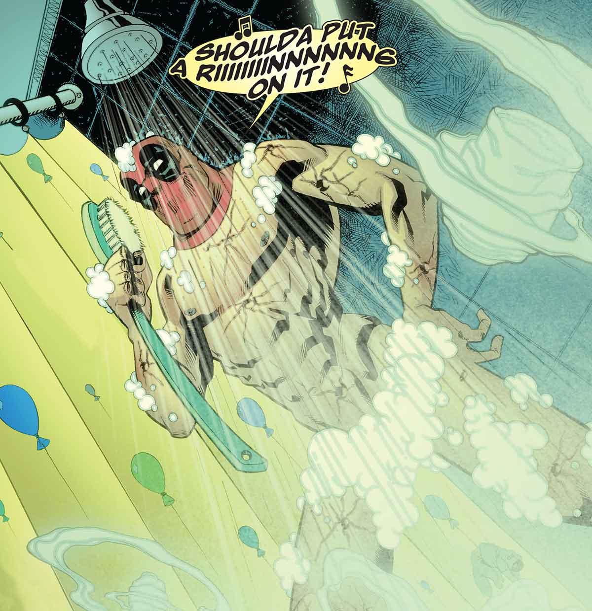 Deadpool ayudó a Wolverine a superar la muerte de Jean Grey