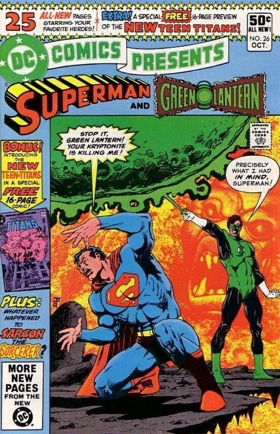 green lantern puede derrotar a superman