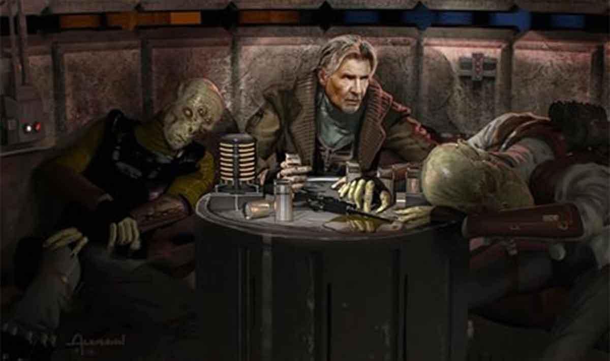 Han Solo casi tiene otra introducción en Star Wars: El despertar de la Fuerza