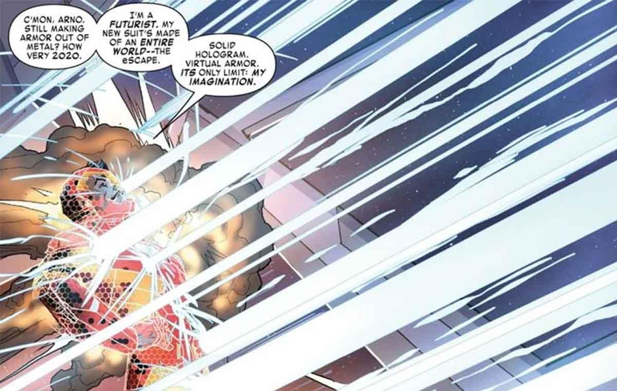 Iron Man acaba de revelar su armadura más avanzada