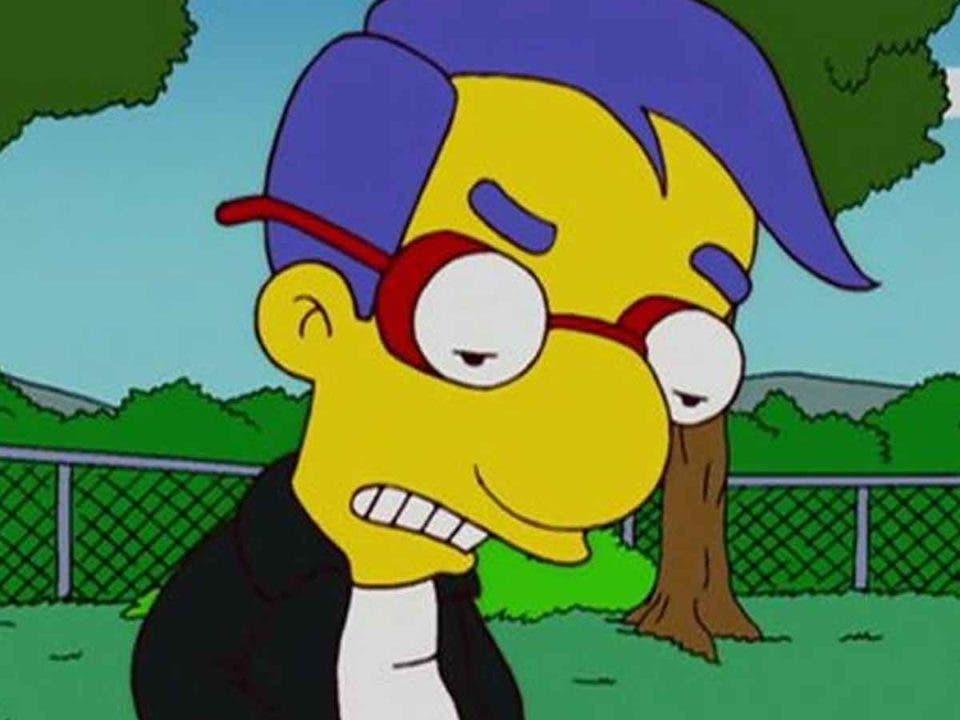 Los Simpson: La oscura inspiración del nombre de Milhouse