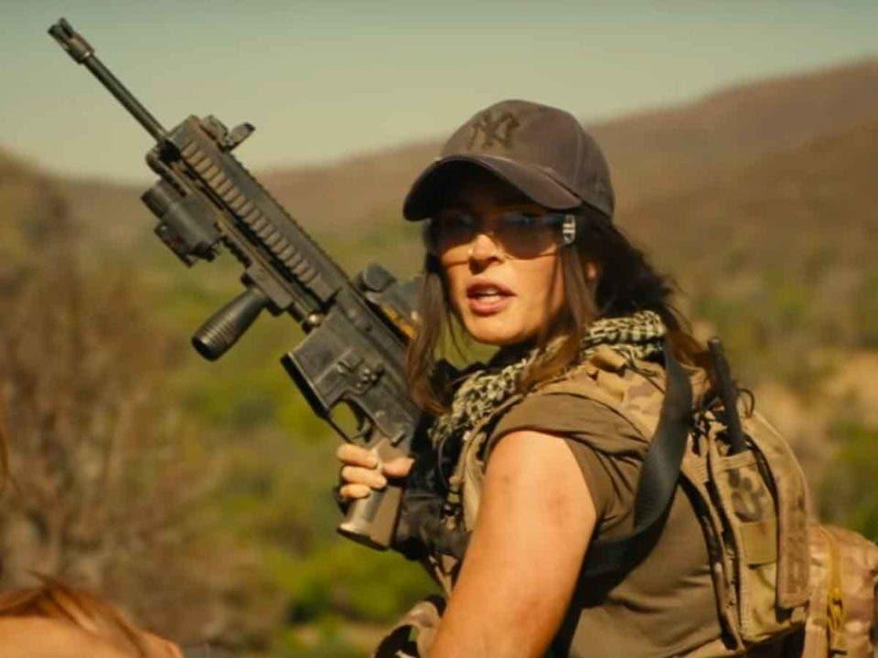 Megan Fox se enfrenta a leones asesinos en su nueva película