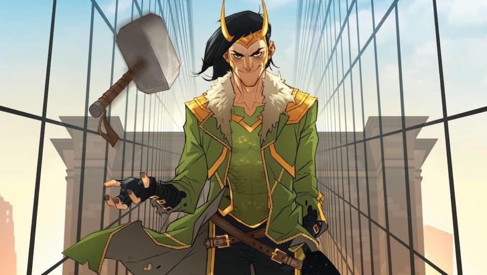 Loki. El dios que cayó a la Tierra