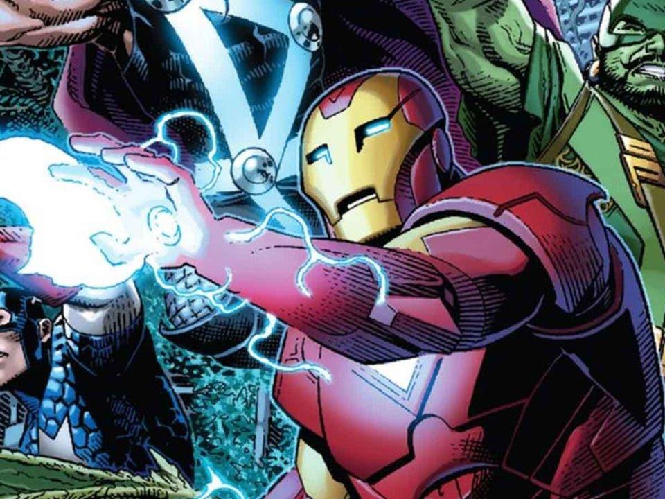Iron Man tendrá una nueva armadura en Empyre