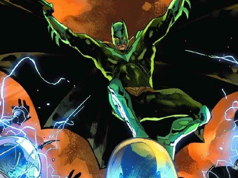DC Comics explica el futurista nuevo traje de Batman