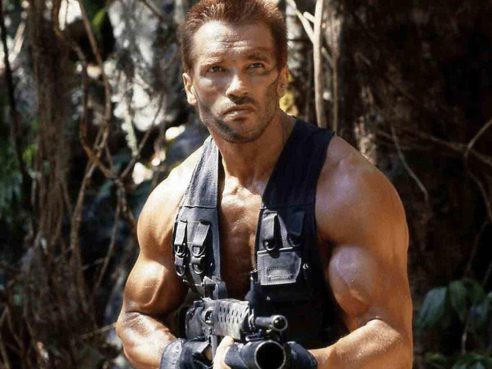 """Arnold Schwarzenegger revela el pasado de """"Dutch"""" de la película Depredador (1987)"""