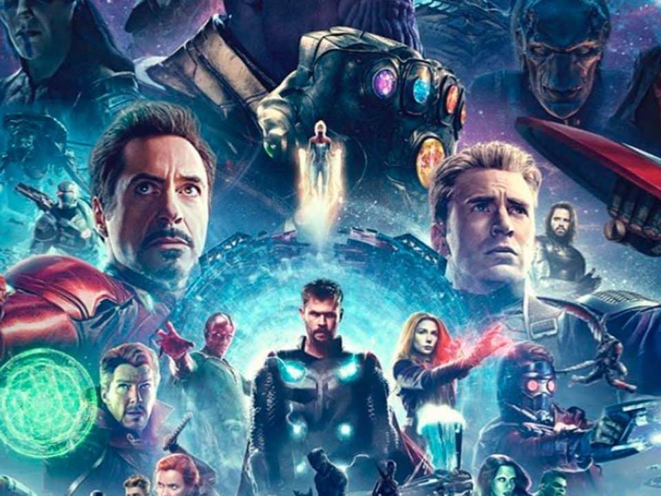 Los Vengadores: Impresionante fan poster de la saga del Infinito