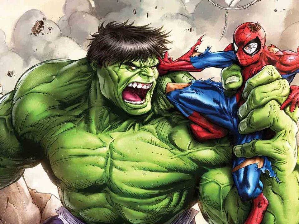 Spider-Man sacó a Hulk de la Tierra de un golpe