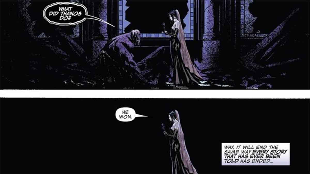 Marvel muestra como Thanos salvó el Universo de sí mismo
