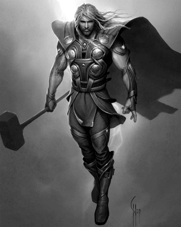 Thors erstes Design für Marvel-Filme