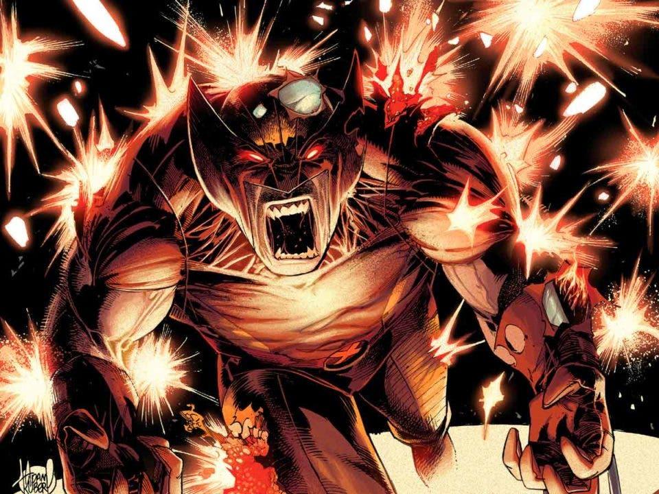 detalle de la portada wolverine 3 - x-men