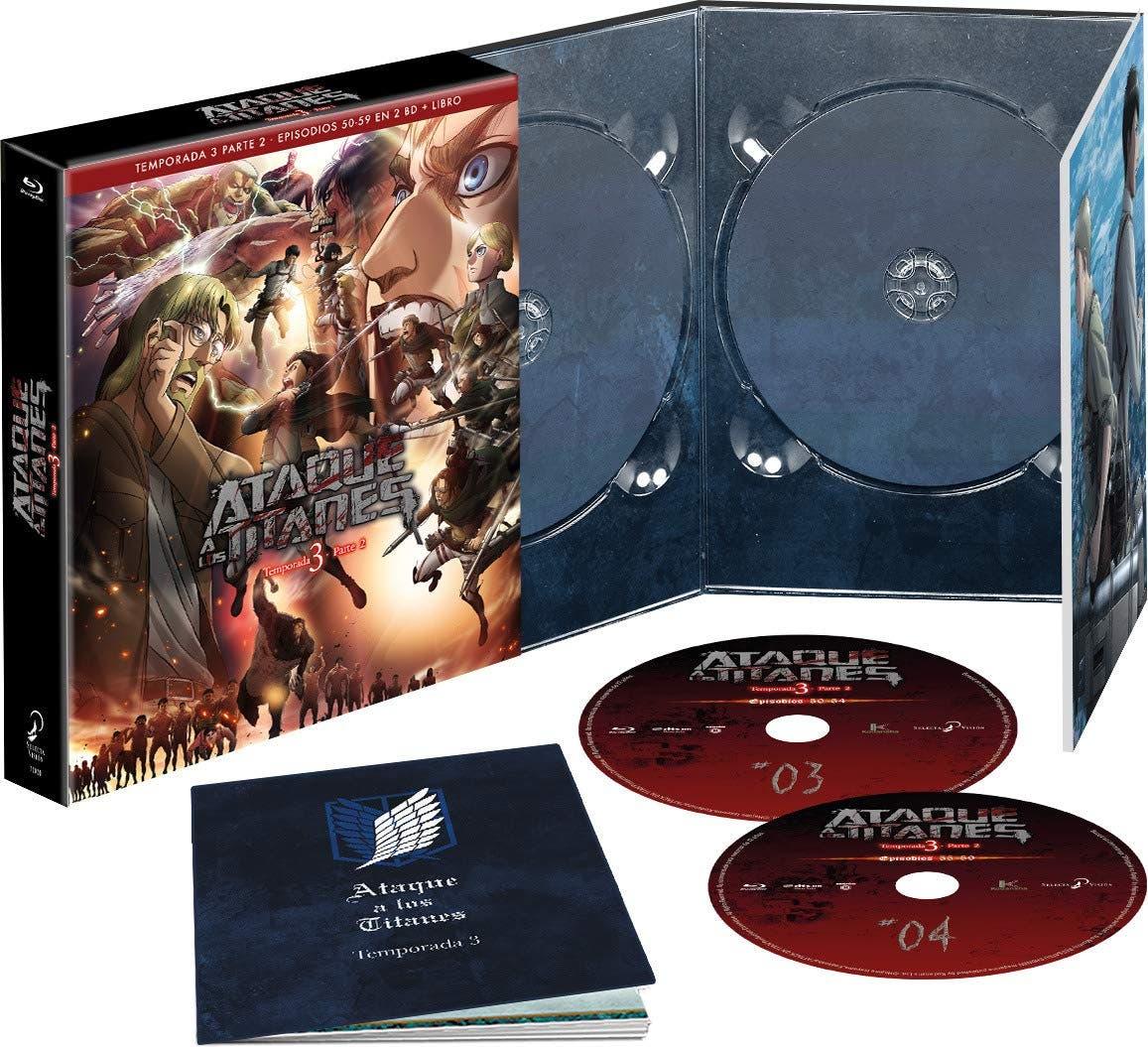 Ataque a los Titanes - Tercera Temporada Parte 2 (Edición Coleccionista) [Blu-ray]