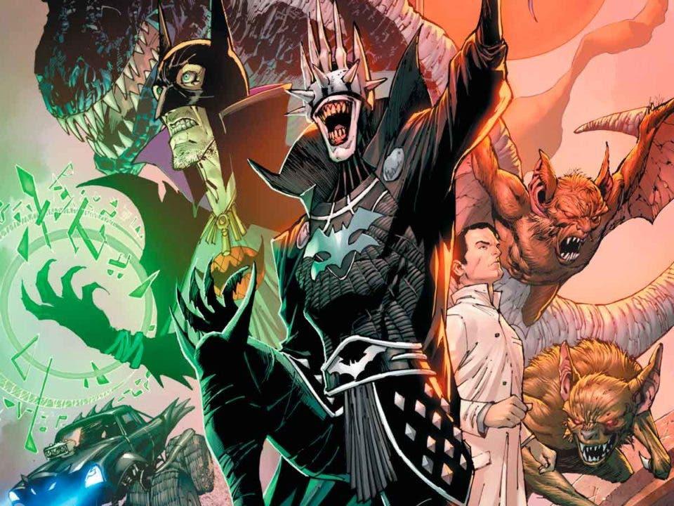 DC Comics revela que hay más de un Batman sembrando el terror en el multiverso de DC
