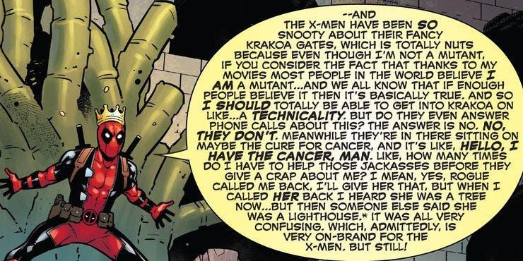 Deadpool no es un mutante