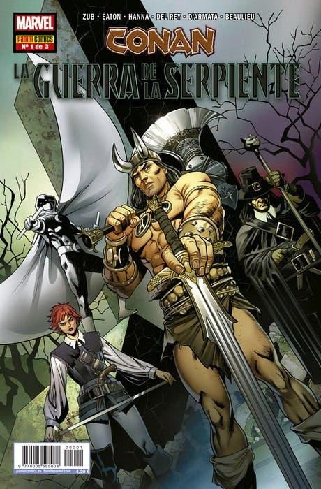Conan: La Guerra de la Serpiente nº 1