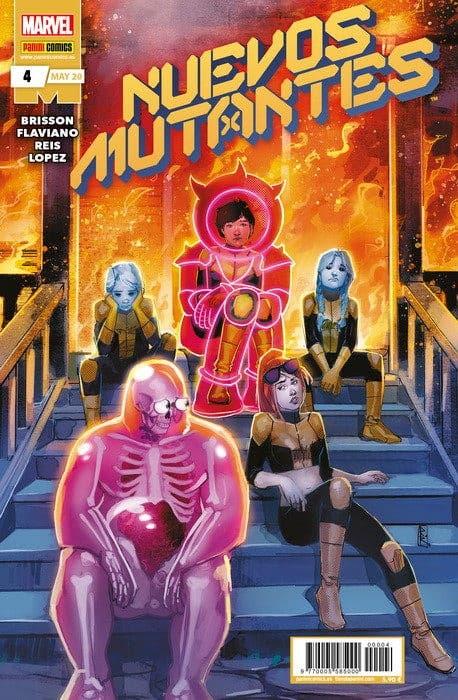 Nuevos mutantes Nº 4