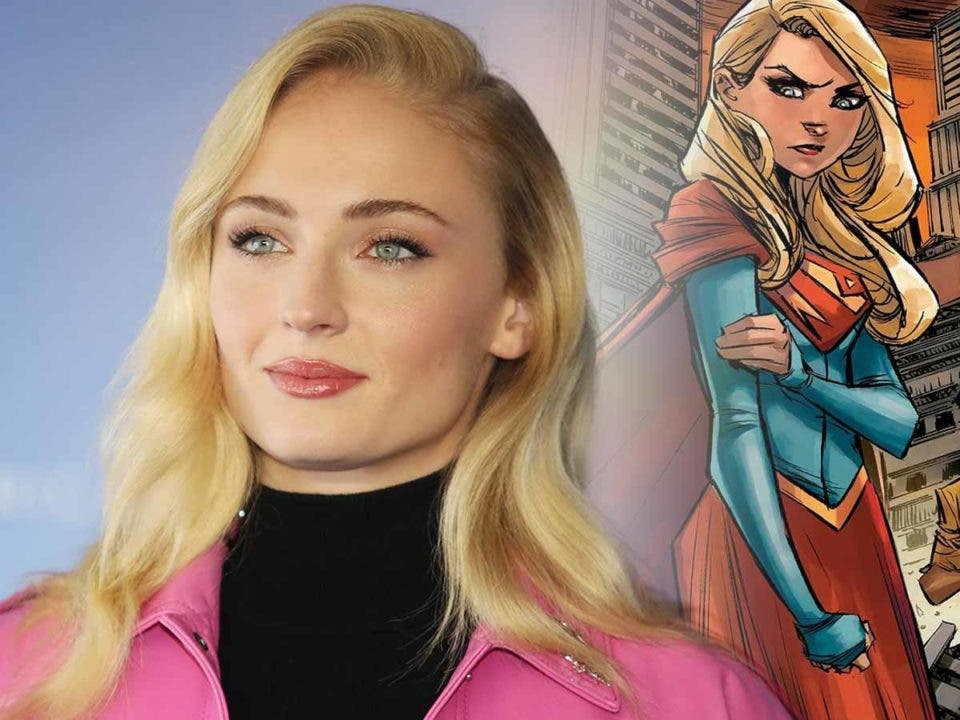 Espectacular Fan Art de Sophie Turner como Supergirl