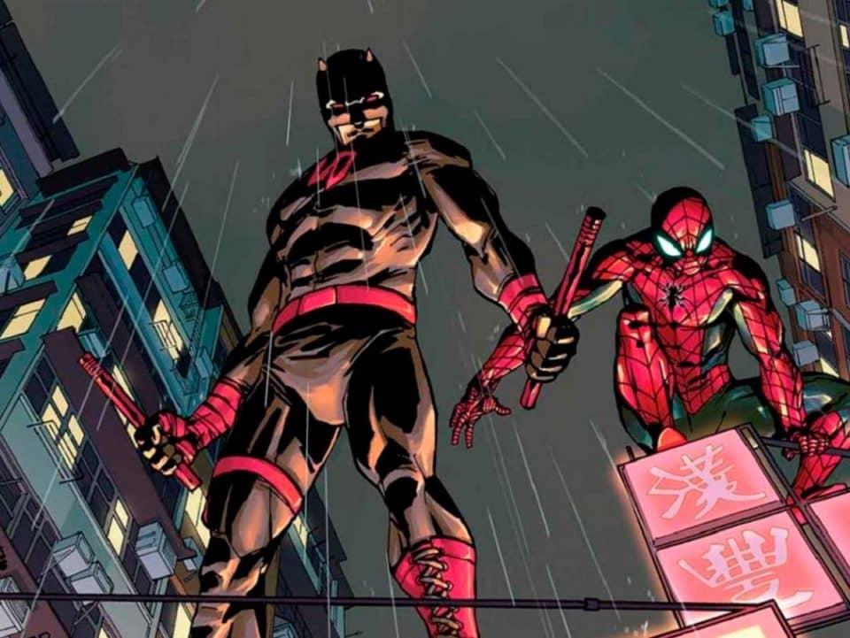 Espectacular fan art de Daredevil en Spider-man 3