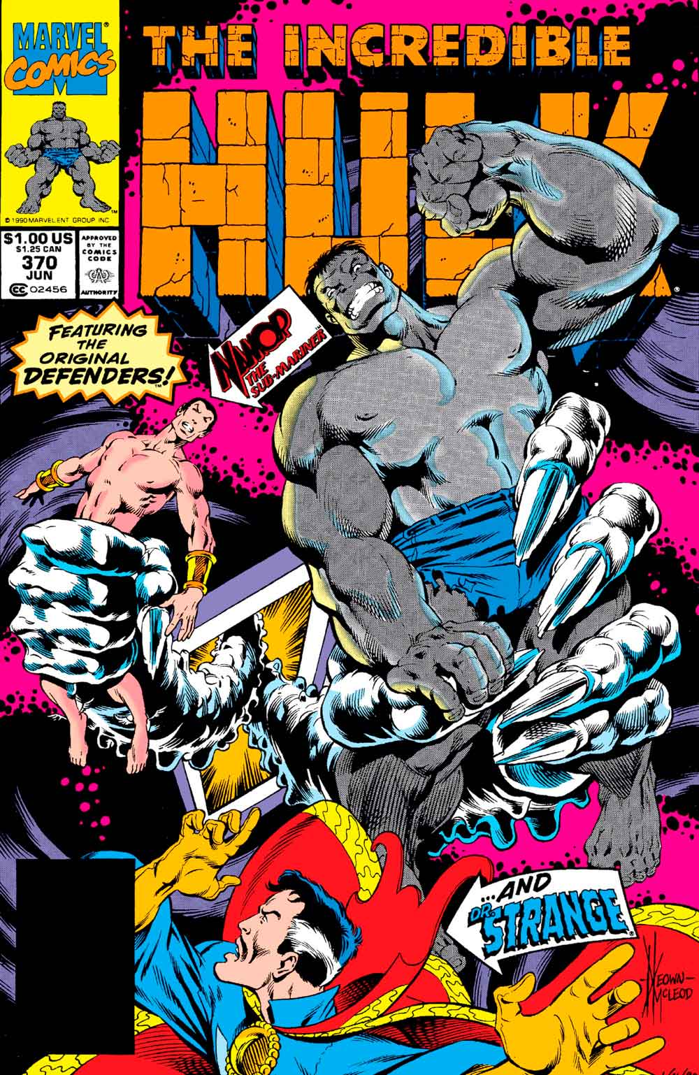 The Incredible Hulk # 370 - Doctor Strange