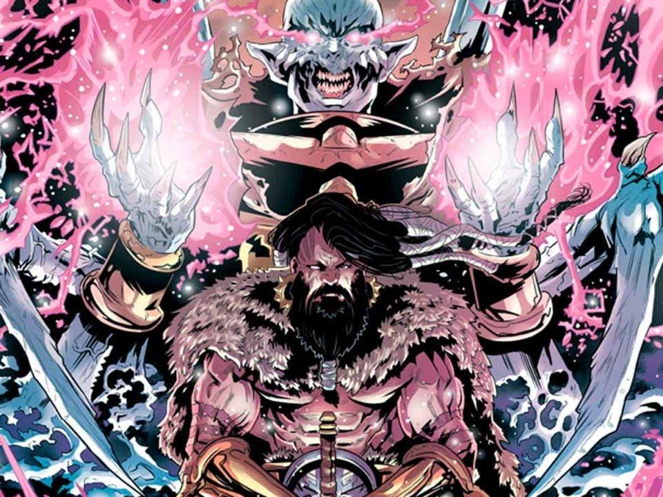 The Barbarian King Vol. 2: El Rey caído.