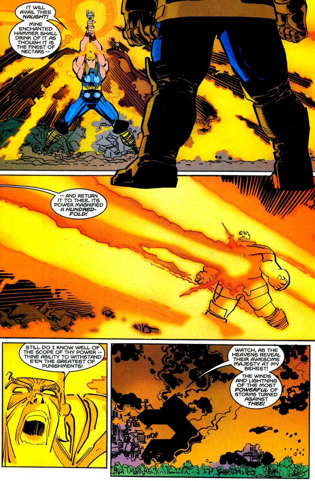 Thor Vol 2 Nº 22 - Thor todavía no ha usado el mejor poder de Mjolnir en las películas de Marvel