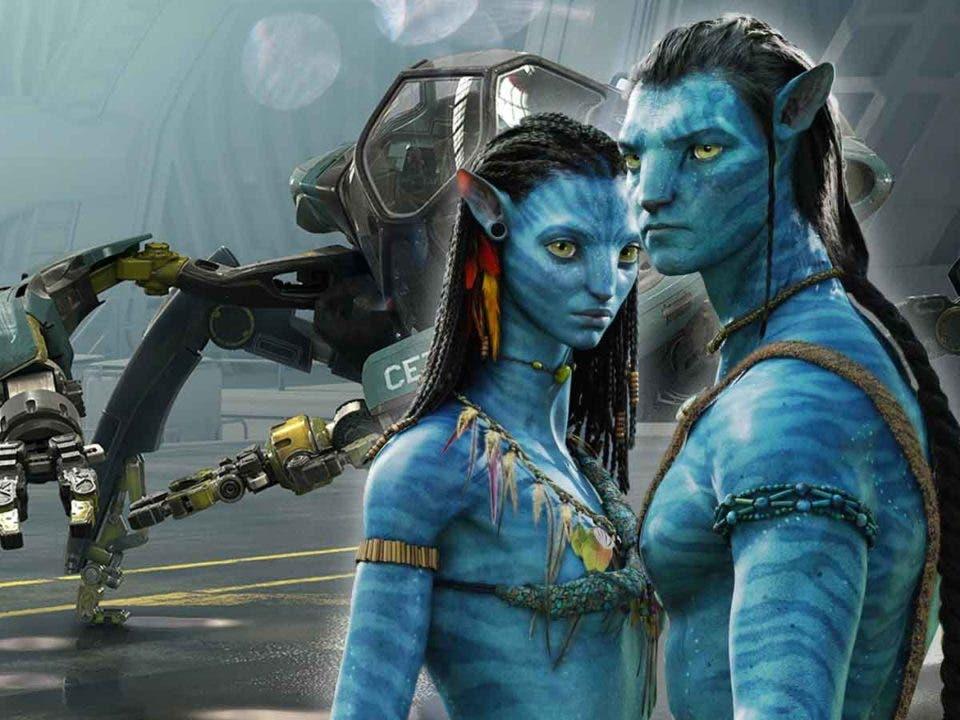 Revelan un nuevo vehículo de los humanos de Avatar 2