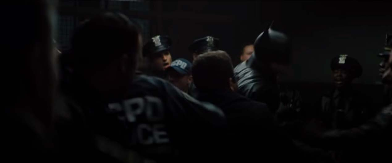 batman vs policia