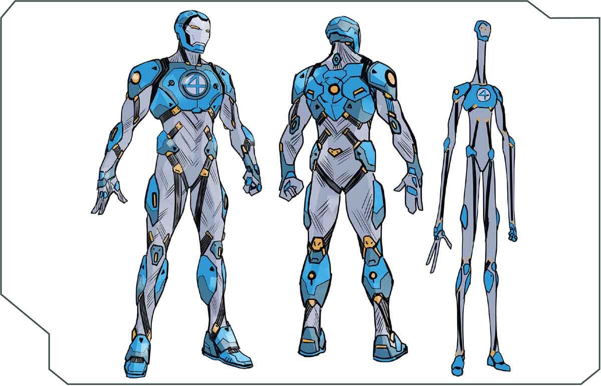 Un veterano héroe de Marvel se pone una nueva armadura de Iron Man